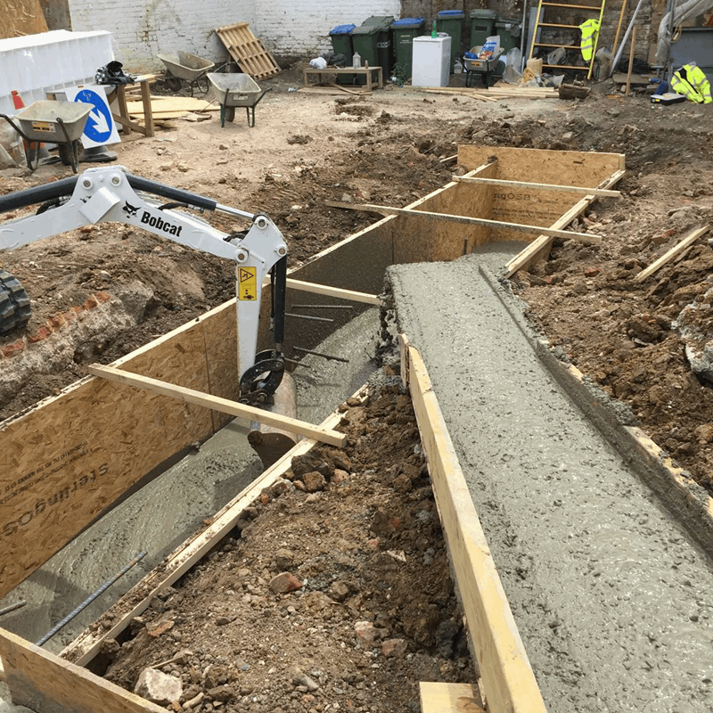 concrete formwork London