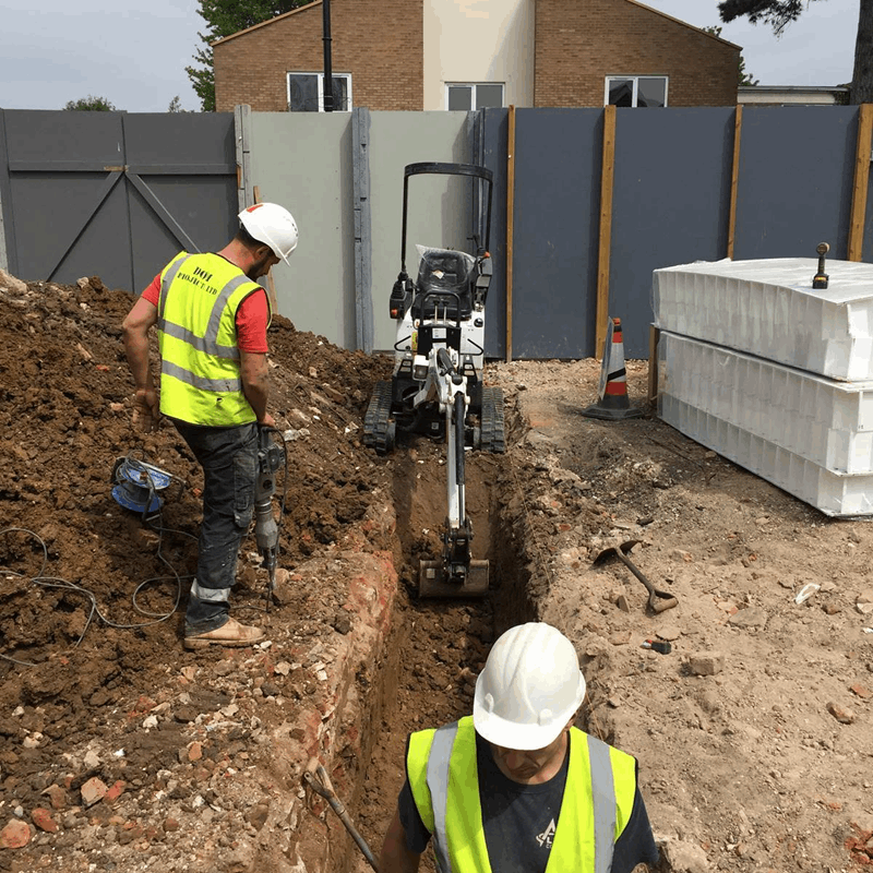 groundworks construction London